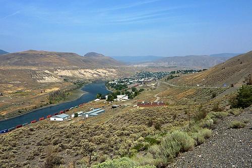Ashcroft on the Thompson River, Thompson Okanagan, British Columbia, Canada.
