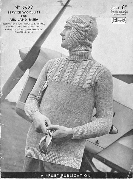 WW2 Knitting Pattern