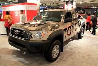 Toyota Tacoma at the 2014 New York International Auto Show   by Joseph Brent