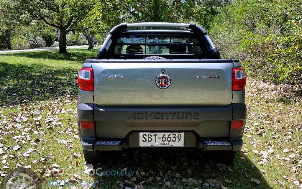 Prueba Fiat Strada Adventure Locker Doble Cabina 1 6
