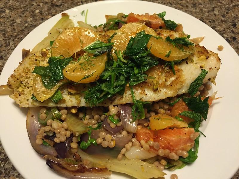 Pistachio-Crusted Catfish