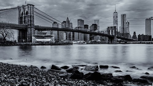nyc newyorkcity longexposure usa newyork architecture brooklyn canon downtown manhattan brooklynbridge newyorkskyline brooklynbridgepark canonef24105mmf4lisusm