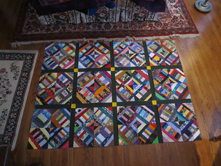Quilt top progress | by TheKarenD
