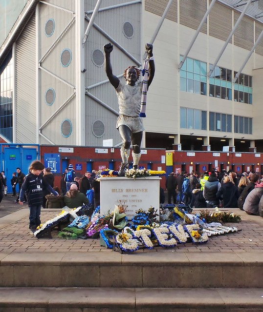 Leeds United - Elland Road - Feb 2015 - Never Forget Your Heroes