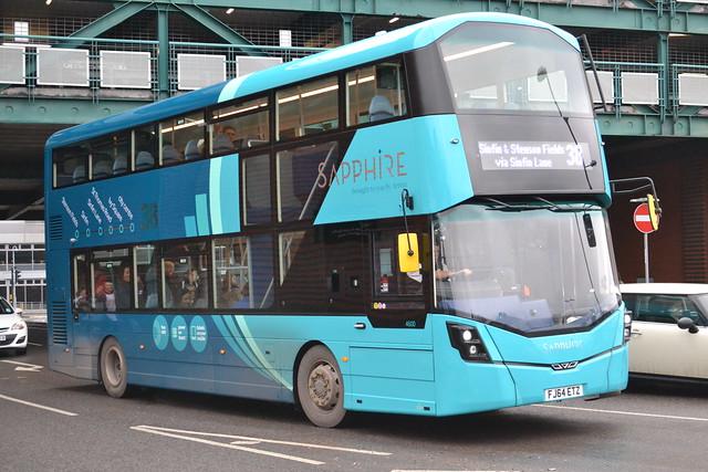 Arriva Midlands 4600 FJ64ETZ