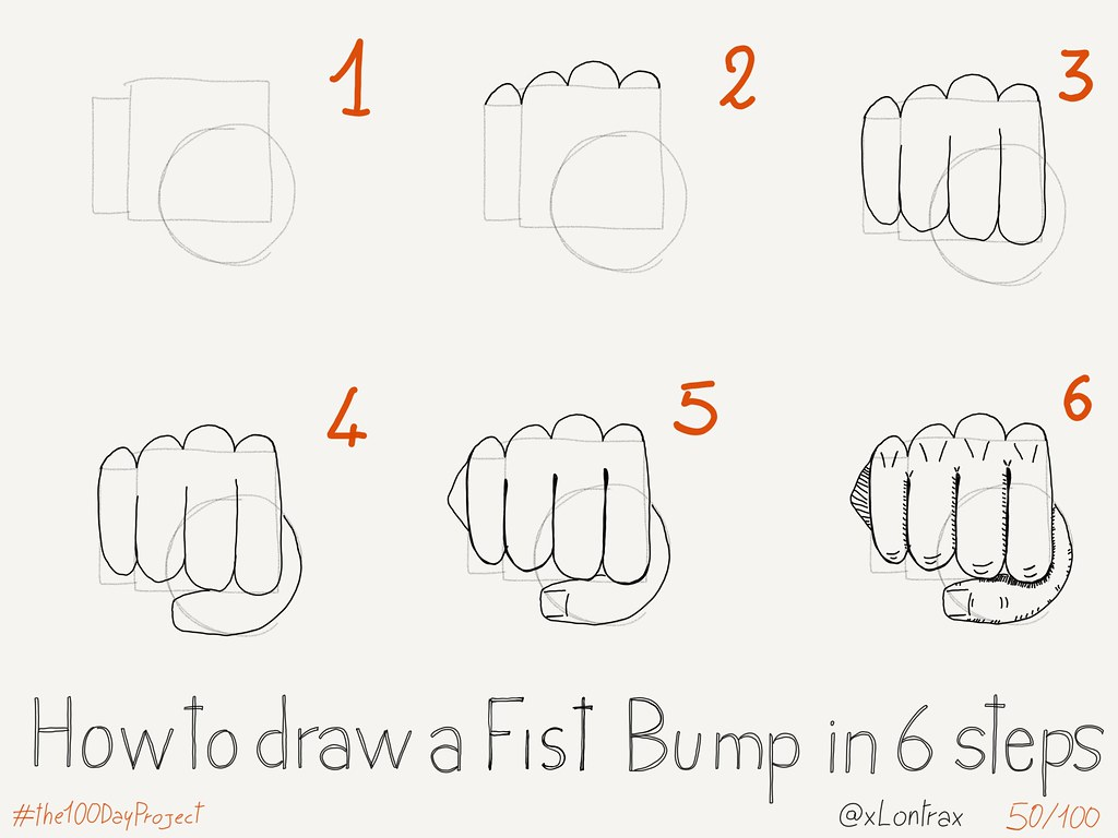 How To Draw A Fist Bump Yo Mauro Toselli Flickr