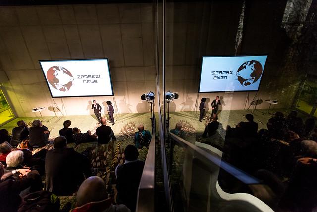 Zambezi News Show Foto: Jörg Farys