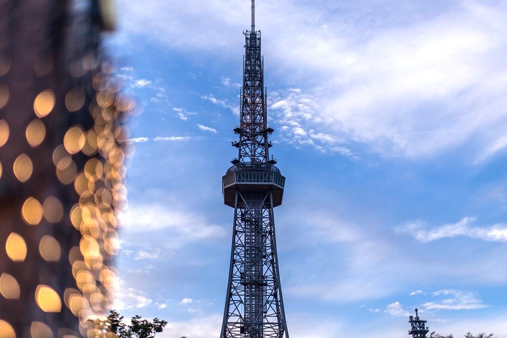 オアシス21とテレビ塔