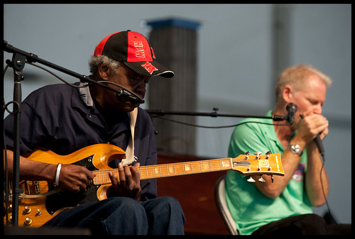 Satan and Adam at Jazz Fest 2013. by Ryan Hodgson-Rigsbee (www.rhrphoto.com)