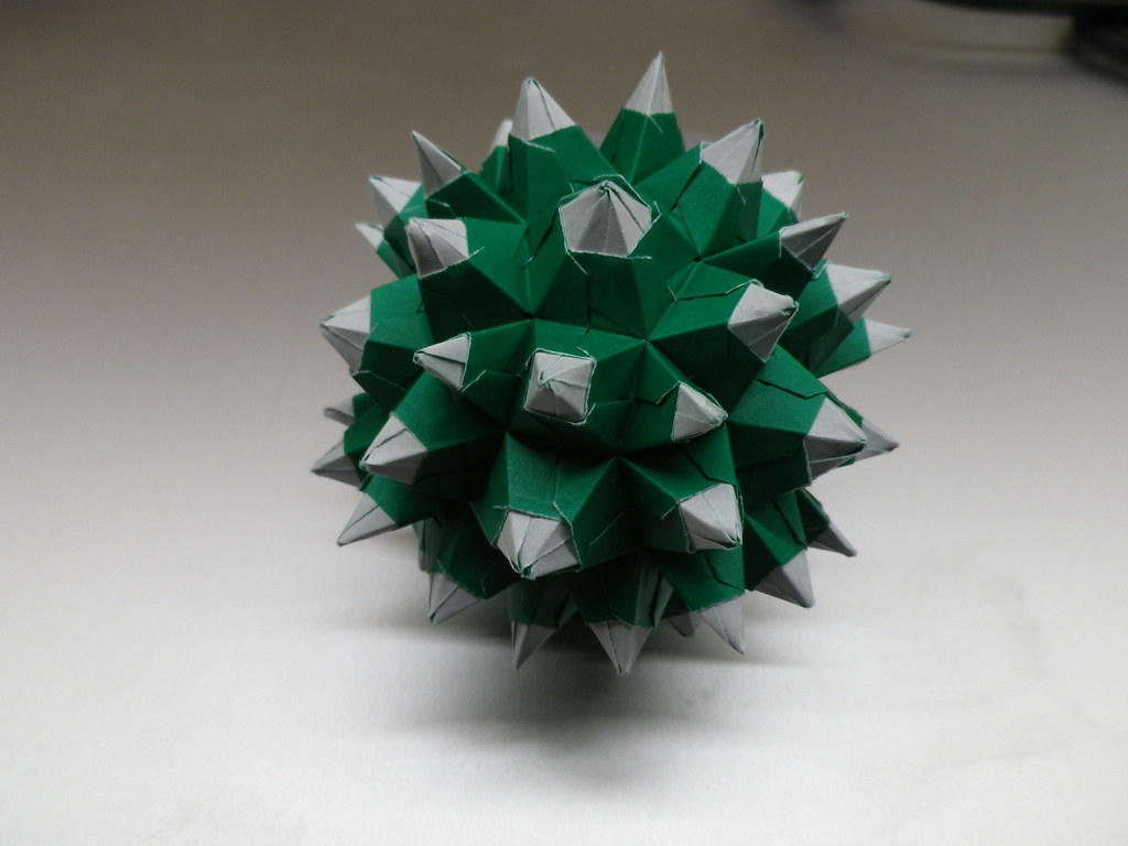 Origami star ball   Etsy   768x1024