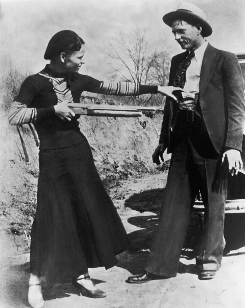 BE037650 | Original Caption: Bonnie Parker and Clyde Barrow,… | Flickr