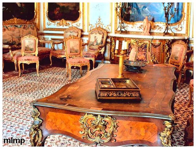 Une pièce du chateau de chantilly... mais laquelle?