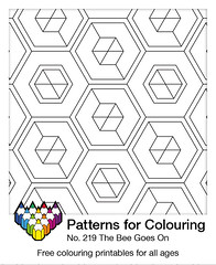 Pattern for Colouring number 219