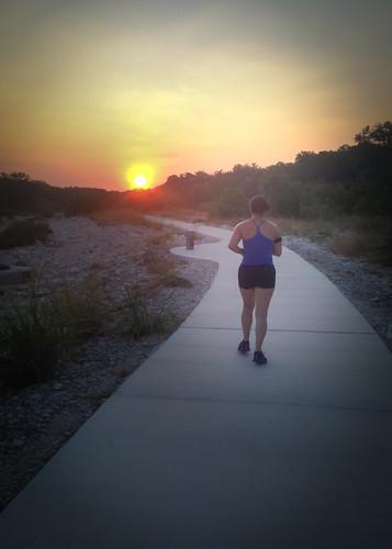 sanantonio sunrise texas unitedstates running run 52weeks 5235in2013
