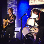 Fri, 04/09/2015 - 7:50pm - James Maddock with an audience of WFUV Members at City Winery in New York City, 9/2/15. Hosted by Carmel Holt. Photo by Gus Philippas