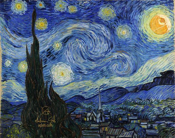 The Starry Night 1889
