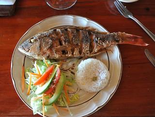 Red Snapper Lunch Manialtepec Oaxaca | by Ilhuicamina