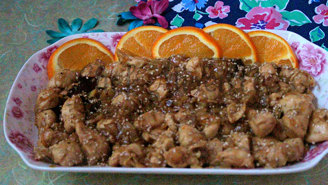 Asian Orange Chicken -edit