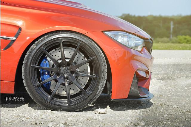 Strasse Wheels Sakhir Orange  BMW M3