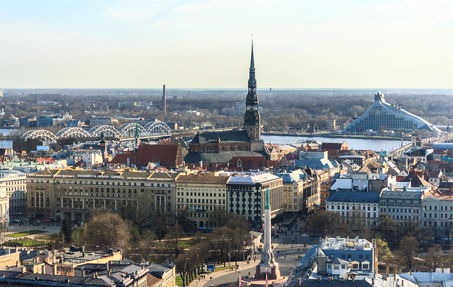 View on Riga, Latvia