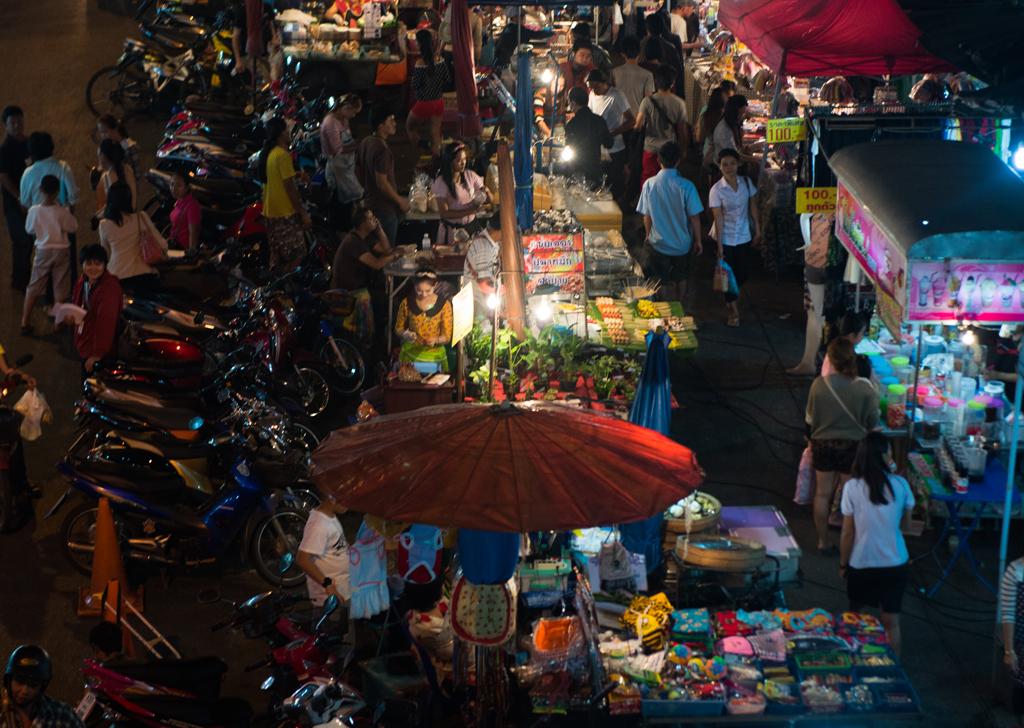 Night Bazaar   A night Bazaar in Chiang Mai, Thailand   Abdul Rahman   Flickr