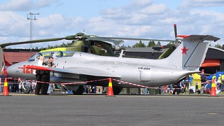 Aero L-29 Delfin LN-ADA at Rygge Air Show 2009 | by J.Comstedt