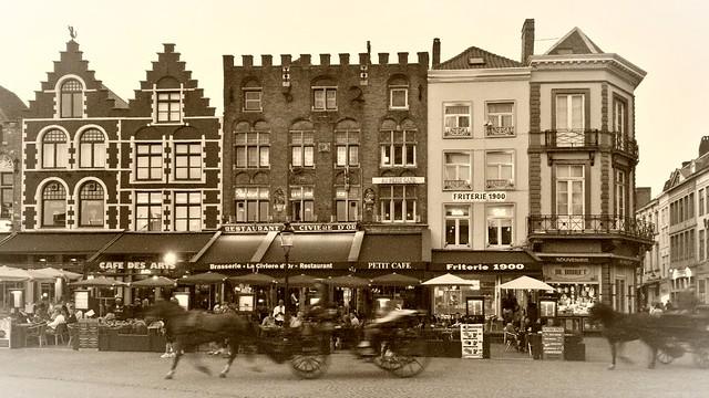 Main square at Bruges