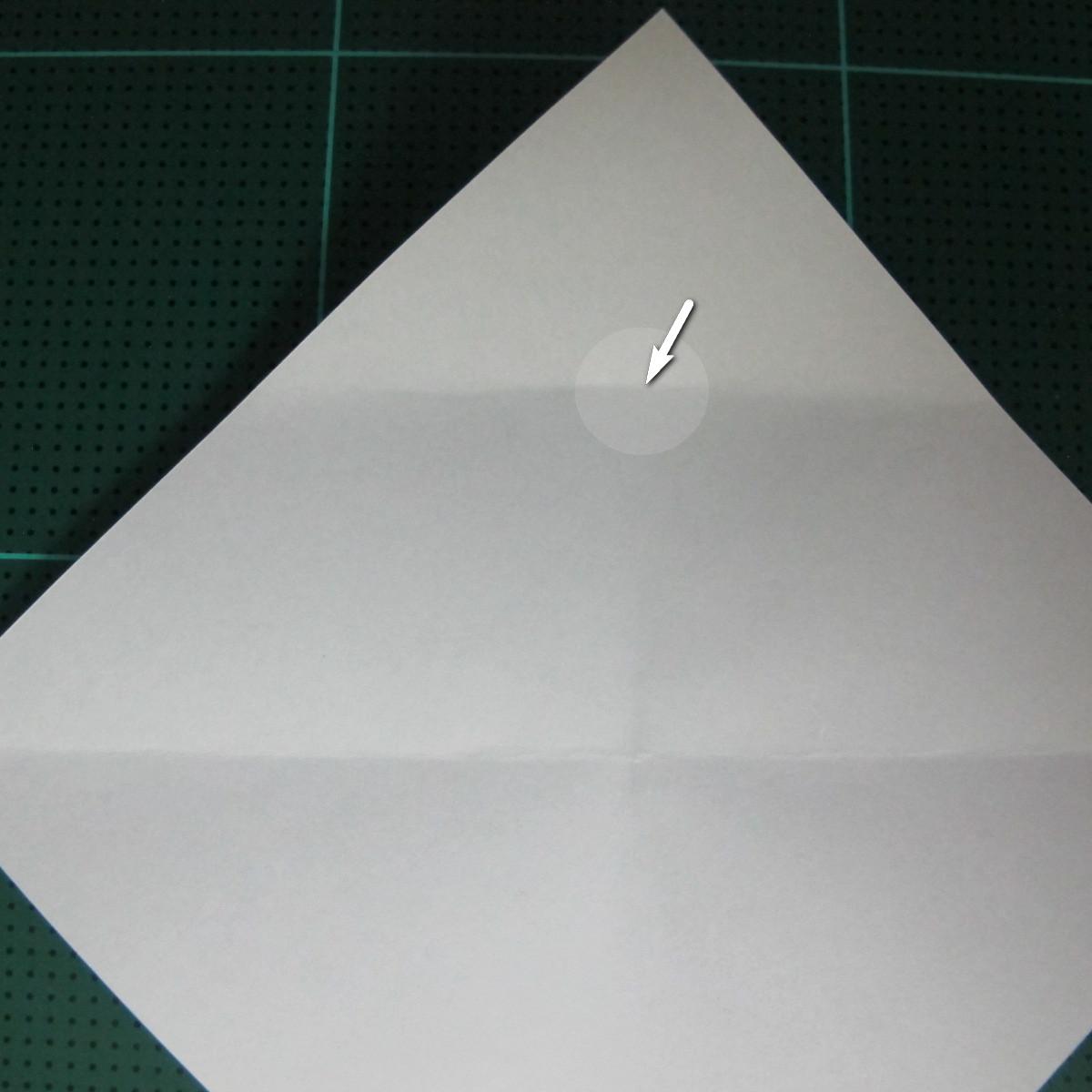 วิธีพับกระดาษเป็นรูปลูกสุนัข (แบบใช้กระดาษสองแผ่น) (Origami Dog) 009