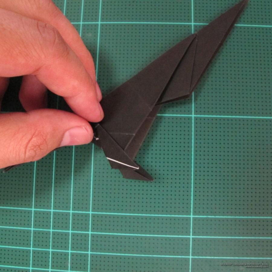 วิธีการพับกระดาษเป็นรูปจิงโจ้ (Origami Kangaroo) 019