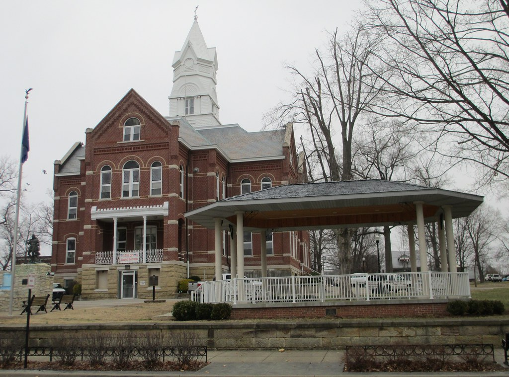 Tell City Indiana >> Tell City Indiana City Hall And Gazebo Built In 1898 Thi Flickr