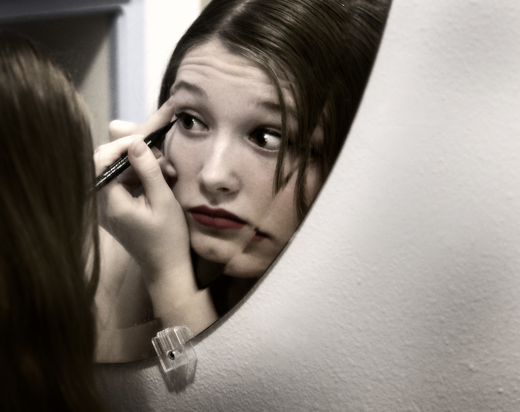 Image result for woman in the mirror