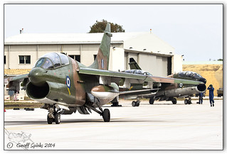HAF A-7 Retirement, Spotters Day, Araxos B_862 | by Geoff Spinks Photography