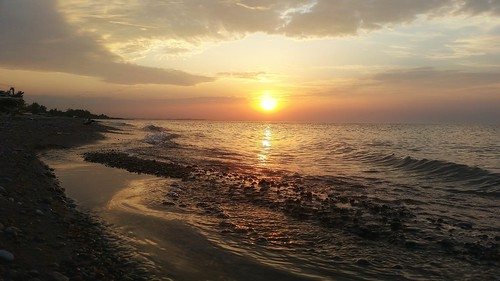 sky toronto canada beauty sunrise outdoors shoreline lakeshore lovely lakeontario bliss