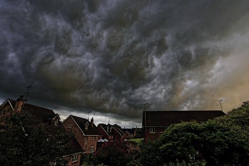 sunset summer england sky storm rain weather clouds landscape nikon rainstorm thunderstorm hertfordshire stalbans stormclouds nikon1835g nikond750