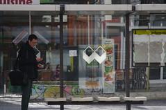 Berlin bus stop