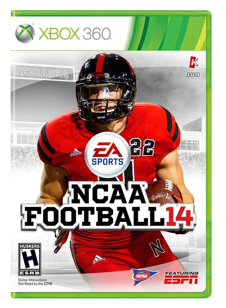 release date 6ad20 7123b NCAA Football 14 Rex Burkhead Nebraska Xbox 360 Cover | Flickr