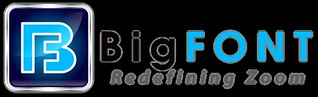BigFONT Logo for white background   by bigfontapp