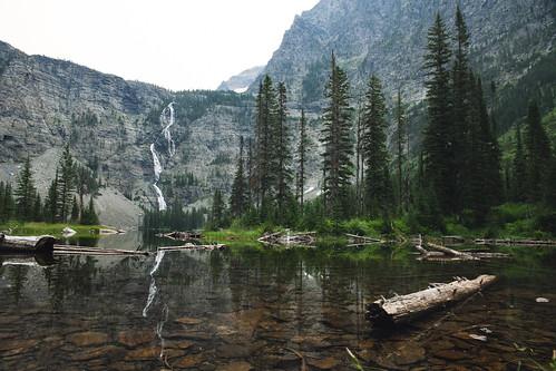 Lincoln Lake - Glacier National Park | by epiøne