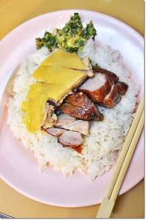 Char Siew & Poached Chicken Rice | by J2Kfm