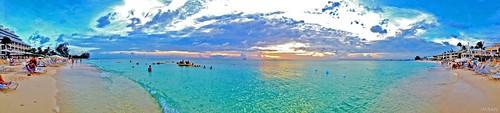 4thofjuly beach blue caribbean clouds holiday imran iphone islands ocean panorama sand sky travel vacation