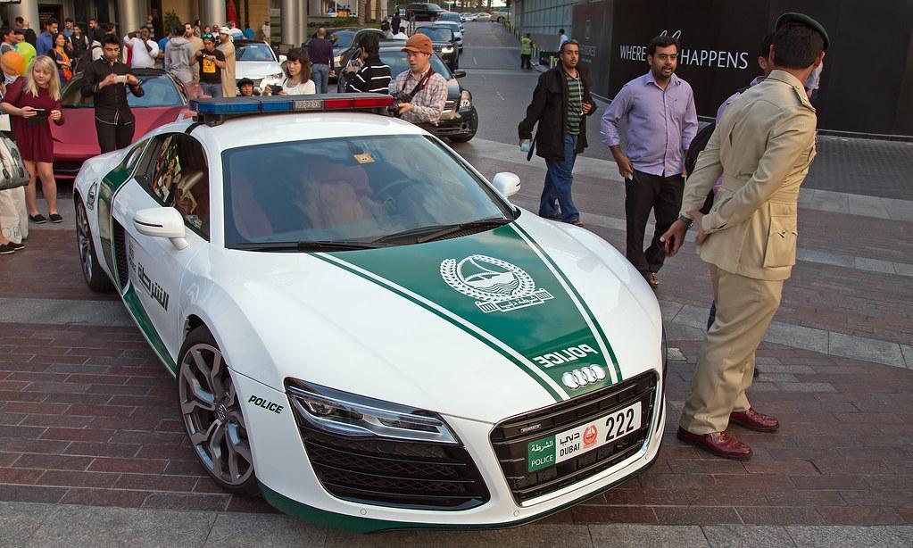 Police Dubai Audi R8 Christian H Flickr