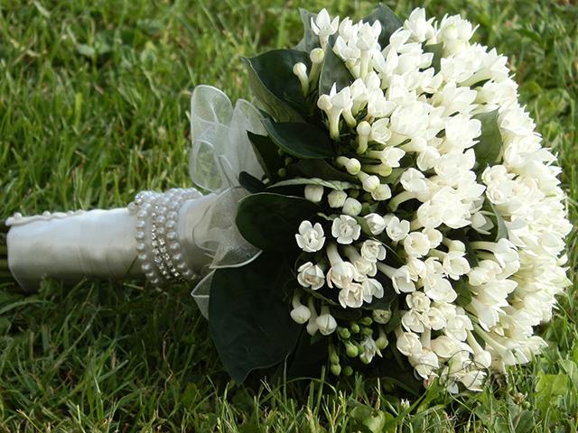 Bouvardia Bouquet Sposa.Bouquet Sposa Con Bouvardia Chiusura Hand Tied Braccialet