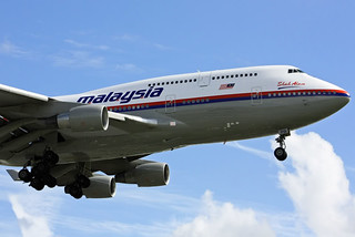 Malaysia Airlines 747-400 9M-MPB