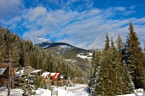 Panorama Mountain Ski Resort, Purcell Mountains, East Kootenays, British Columbia, Canada.