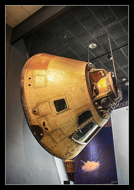 Washington D.C. - National Air and Space Museum - Skylab 4 Command Module