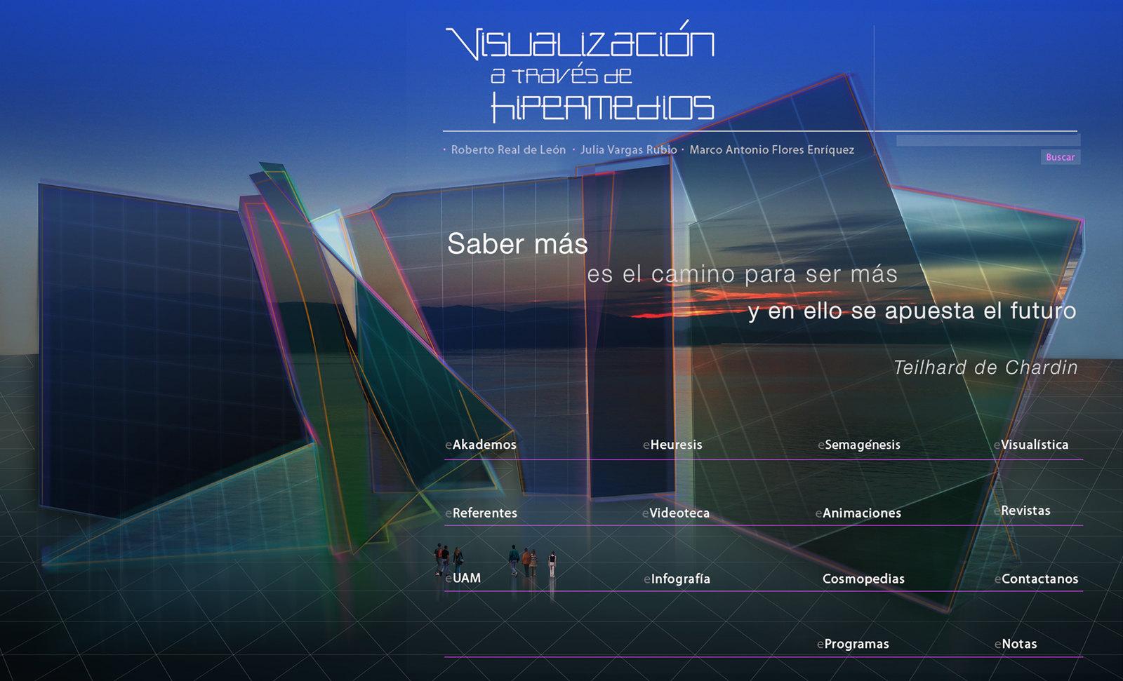 Visualización a través de Hipermedios