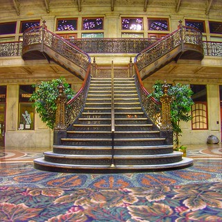 Buffalo NY ~ Ellicott Square Building ~ Grand Staircase | Flickr