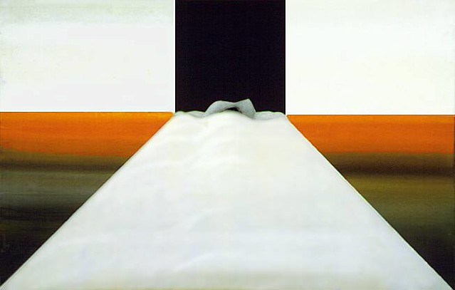 Antunez, Nemesio (1918-1993) - 1983 The Ultimate Bed (Museum of Fine Arts, Santiago, Chile)