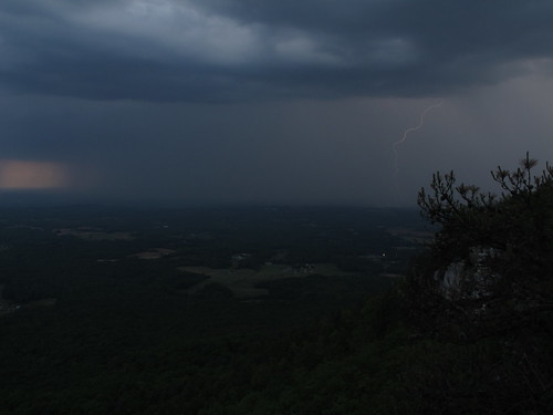park sunset mountain nc state north may carolina thunderstorm lightning knob pilot thunderstorms 2013