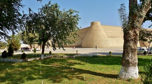 The Ark Fortress, Bukhara, Uzbekistan